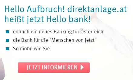 So mobil wie Sie I Hello bank!2