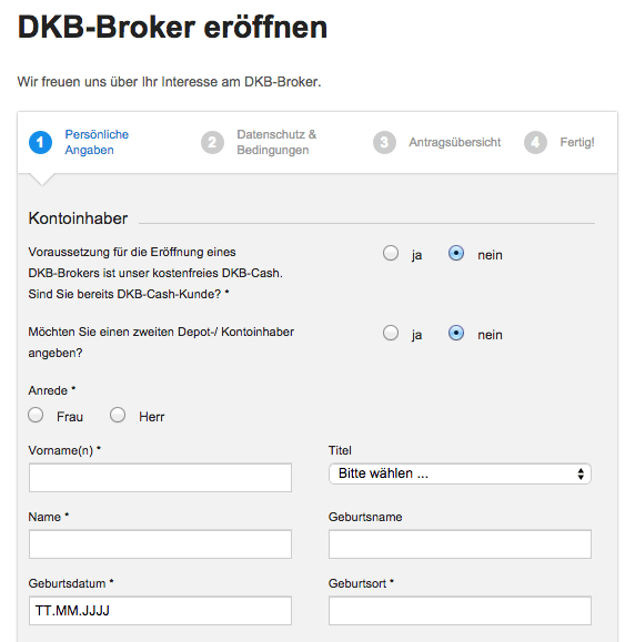 DKB Broker Erfahrungen