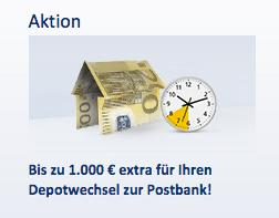 Postbank Depot Erfahrungen