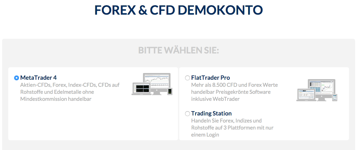 Forex trading demokonto