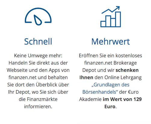 Finanzen.net Broker Erfahrungen