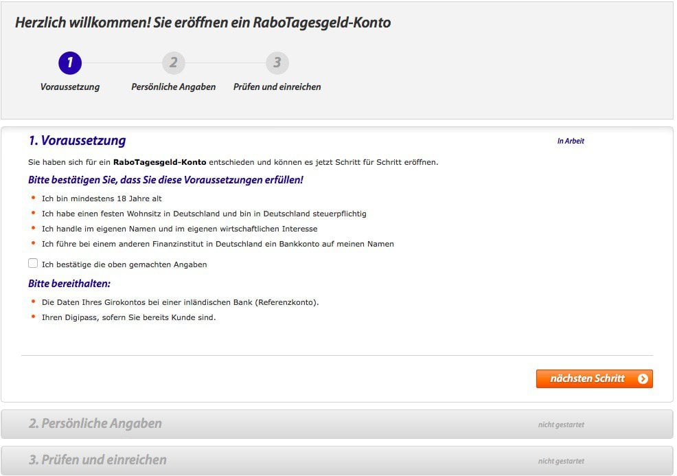 rabodirect_registrierung