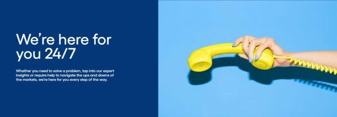 Der Kundensupport kann unter anderem per Kontaktformular kontaktiert werden