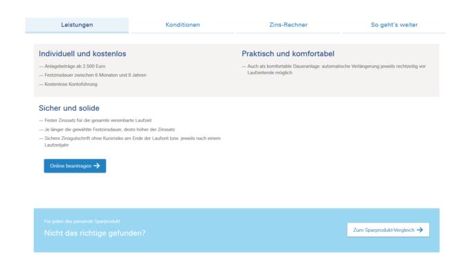 Deutsche Bank Tagesgeldkonto