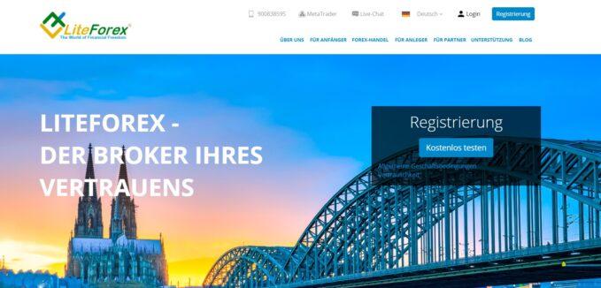 LiteForex Profildaten