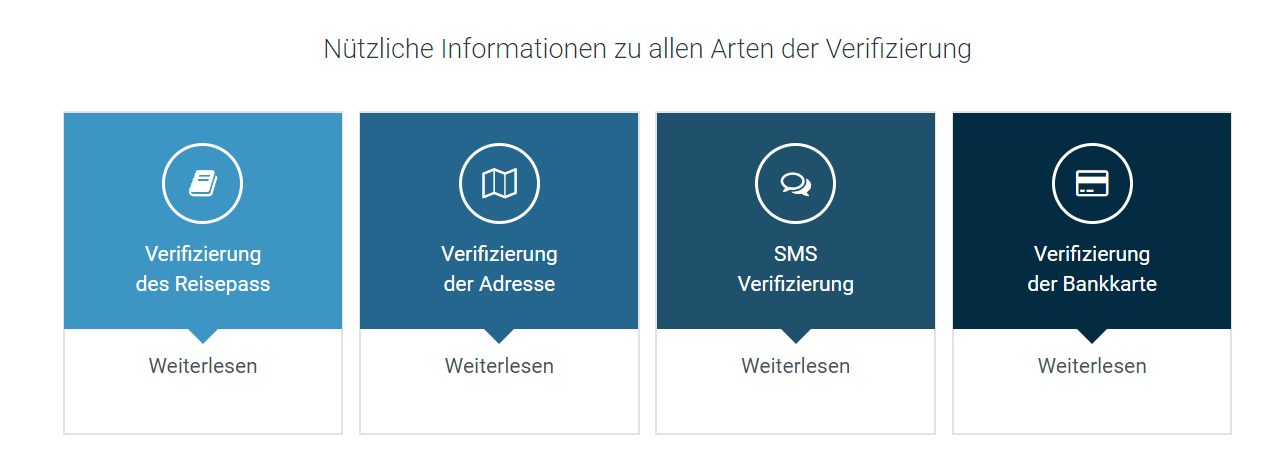 Alternativen Verifizierung
