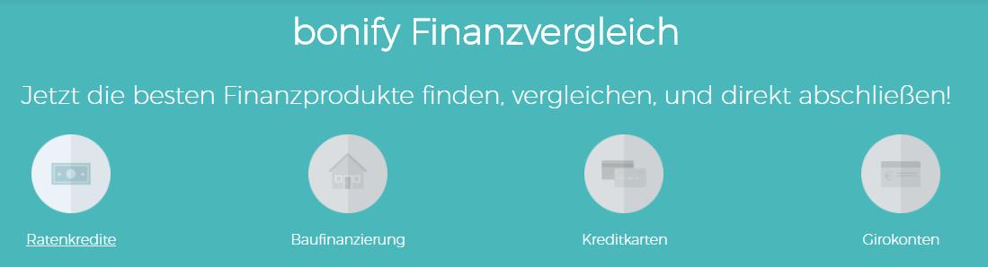 bonify finanzvergleich