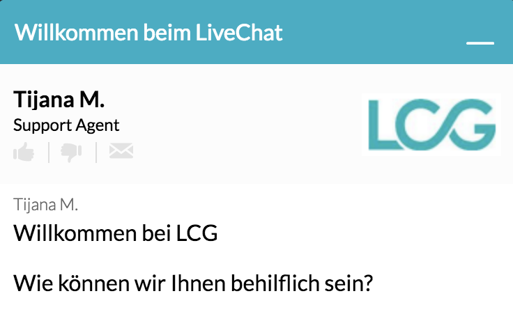 LCG Live-Chat