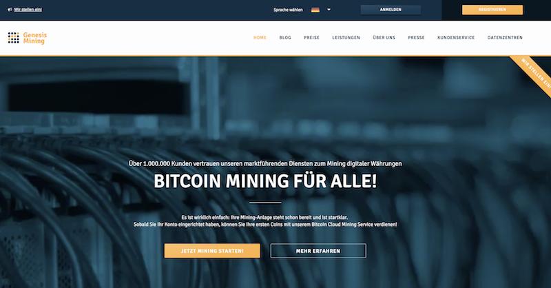 Genesis Mining Bitcoin Mining