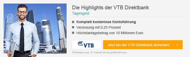 VTB Direktbank Erfahrungen