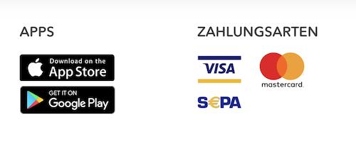 nextmarkets Zahlungsmöglichkeiten