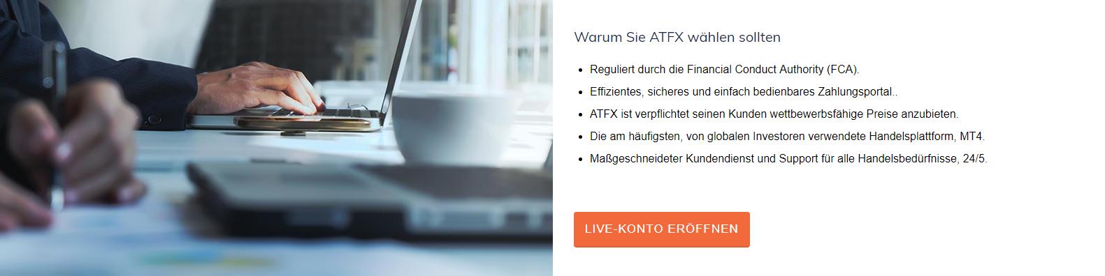 Das sind Gründe für ATFX
