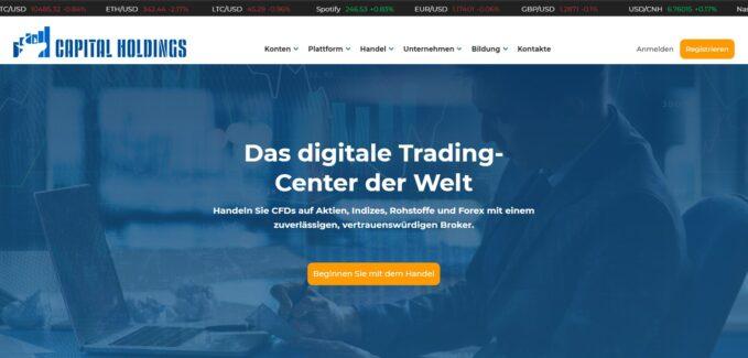 Capital Holdings Testbericht & Erfahrungen